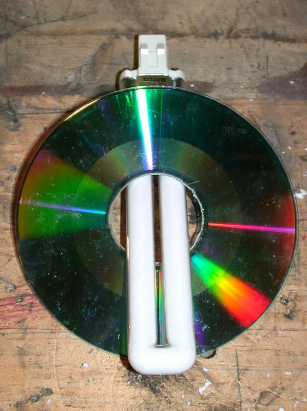 Люстра своими руками из компакт дисков своими руками